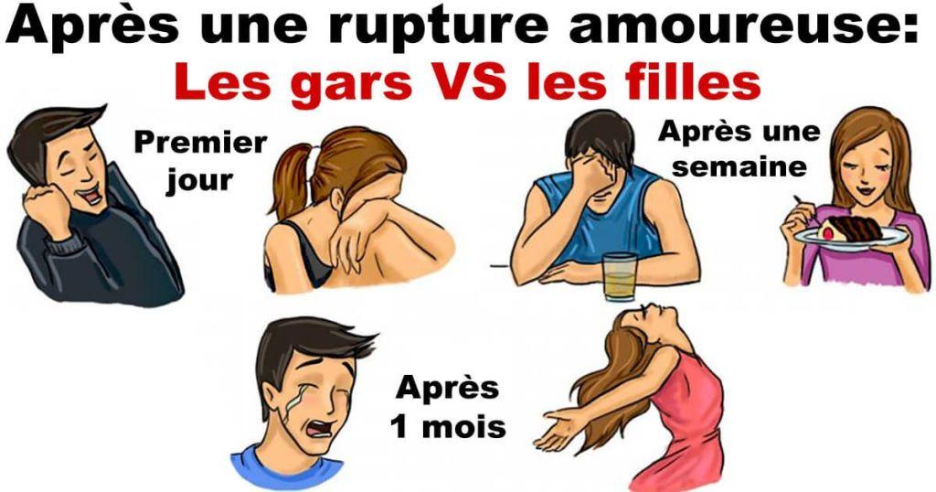 rupture amoureuse gars vs filles lol 1024x538 Les Meilleures Photos de Profil WhatsApp 2019 en Téléchargement Gratuit