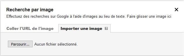 Importer une image sur Google