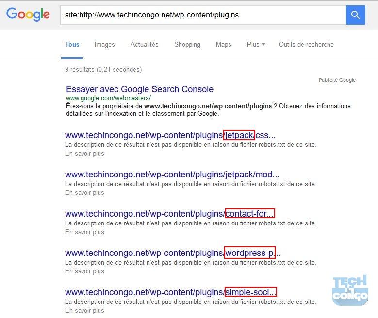 Trouver les Plugins sur un site avec Google Comment connaitre les plugins et thème d'un site sous WordPress