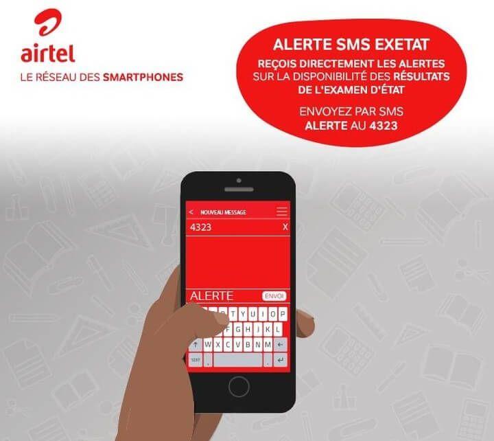 alerte exetat airtel EXETAT 2018 RDC : Comment vérifier les résultats d'examen d'état 2018
