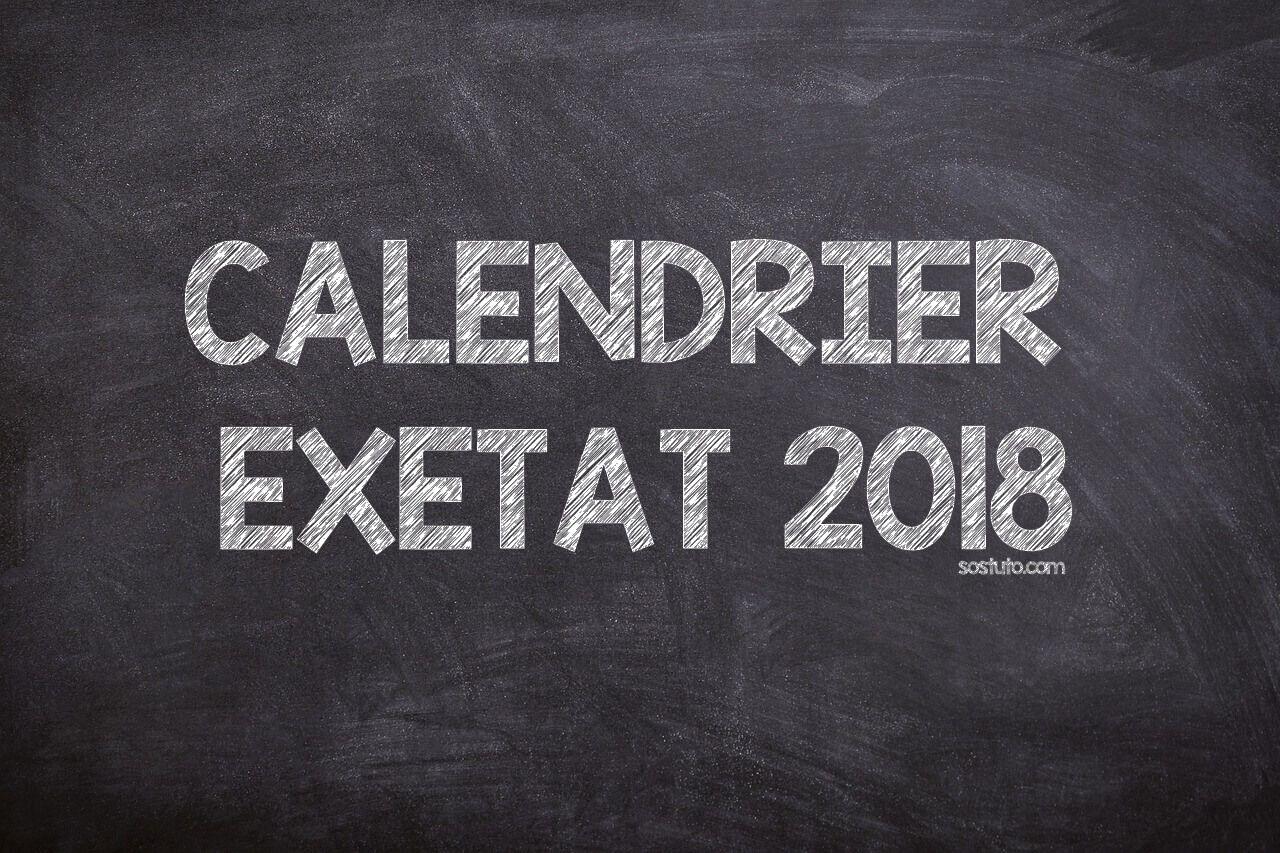JOURNAL EXETAT 2018 TÉLÉCHARGER LE