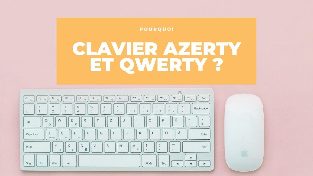 Clavier qwerty en azerty Voici Pourquoi Les Lettres Sur le Clavier Ne sont Pas en Ordre Alphabétique