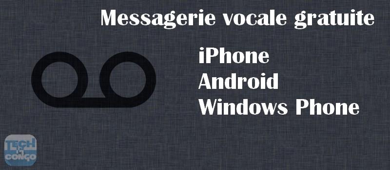 Messagerie vocale gratuite