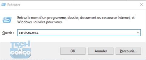 executer services Comment réduire la consommation abusive des données de Windows 10