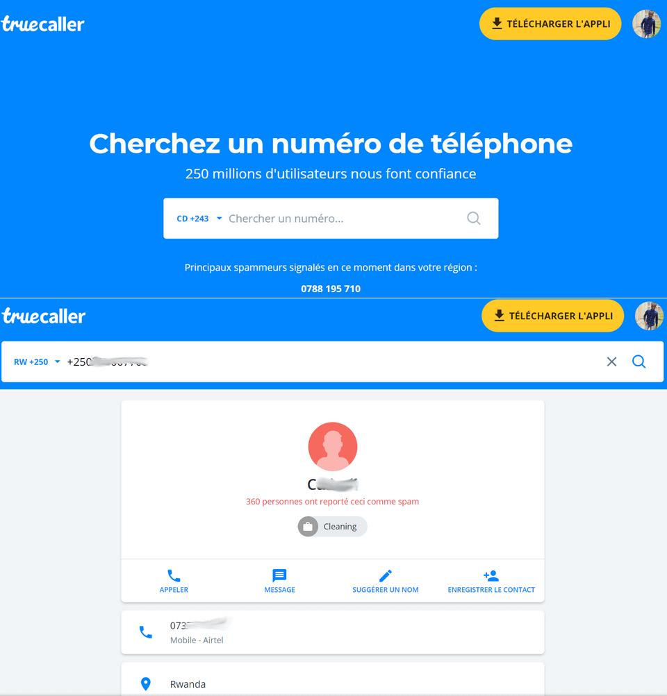 TrueCaller Chercher un numero de téléphone 2 Moyens pour identifier un appel inconnu et savoir à qui est ce numéro