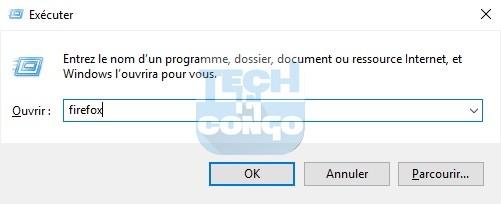 firefox Liste des commandes « exécuter » (Run) utiles pour Windows 10 / 8 /7