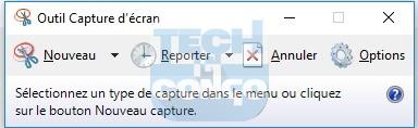 outil capture decran Liste des commandes « exécuter » (Run) utiles pour Windows 10 / 8 /7
