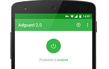 Bloqueur de pub android application