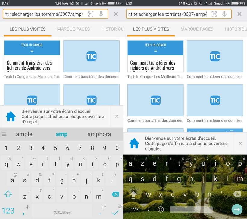 photo arriere plan clavier android Voici comment changer l'arriere-plan du clavier Android avec une image ou couleur