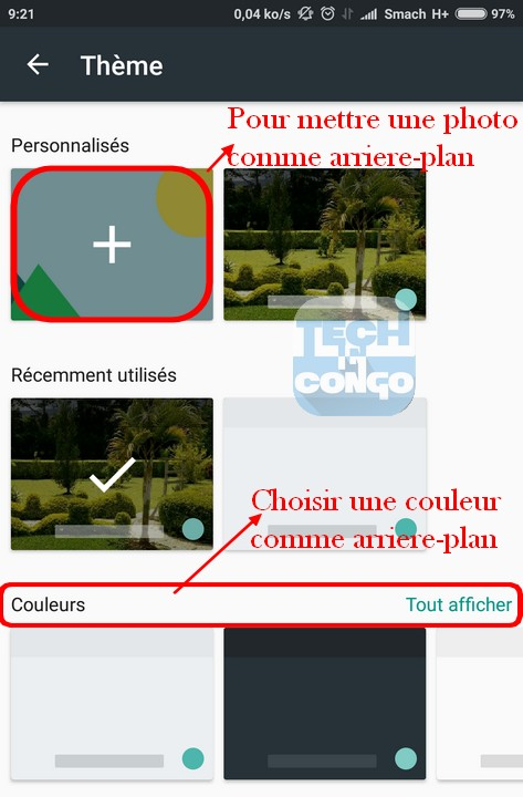themes gboard Changer la Couleur du clavier Android par une autre couleur ou une image