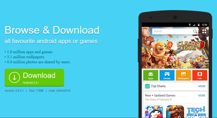 1Mobile Market 10 Meilleures applications non disponibles sur Google Play store