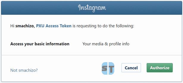 Autoriser PXU Access Token Comment avoir beaucoup des likes Instagram gratuitement en 2018