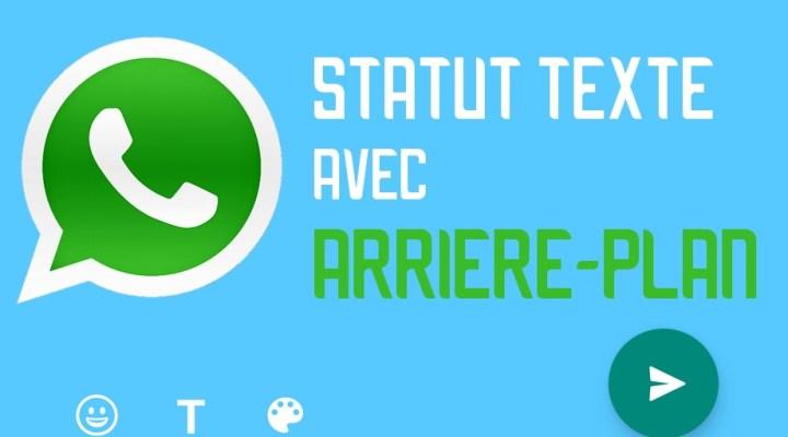 WhatsApp: les statuts texte en couleur sont disponibles, voici comment les activer