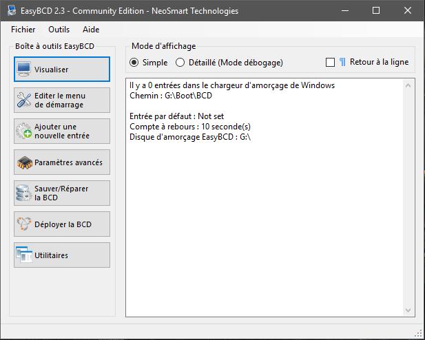 EasyBCD Installation Comment rendre une clé USB bootable sans la formater