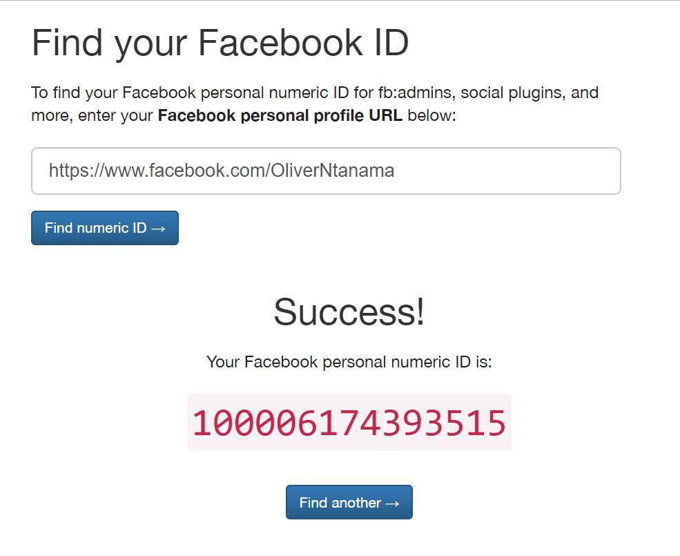 FindMyFBid Le code @[4:0] ne permet pas de vérifier si votre compte Facebook a été piraté