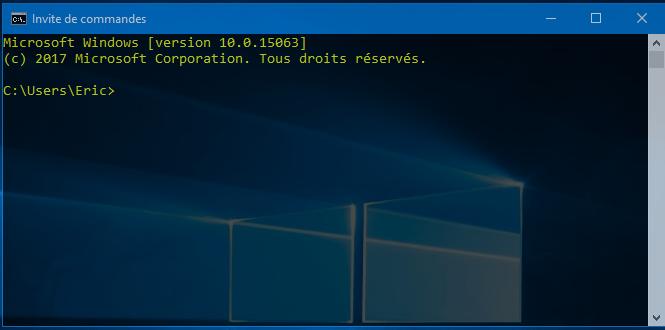 Invite de commandes Comment Trouver le Code d'un WiFi Sécurisé Enregistré sur Votre PC