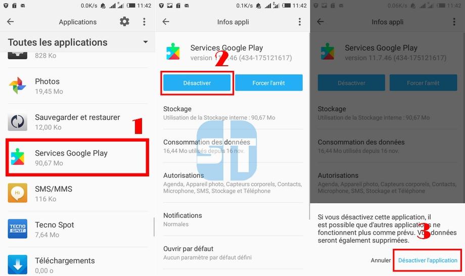 Desactiver les Services Google Play C'est quoi les Services Google Play ? Pourquoi vous en avez besoin ?