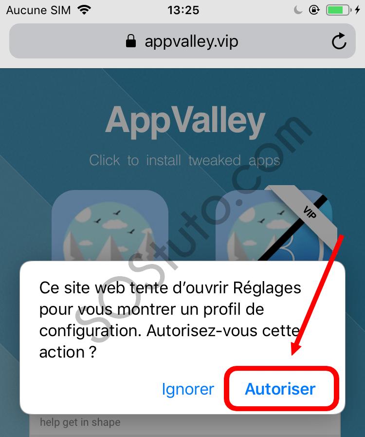 autoriser installation AppValley Télécharger AppValley pour iPhone, iPad, iPod (iOS 2019)