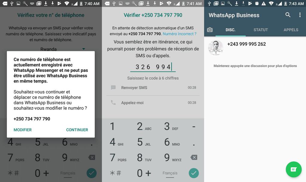 Configurations WhatsApp Business 1024x608 Télécharger WhatsApp Business pour Android + Comment l'utiliser