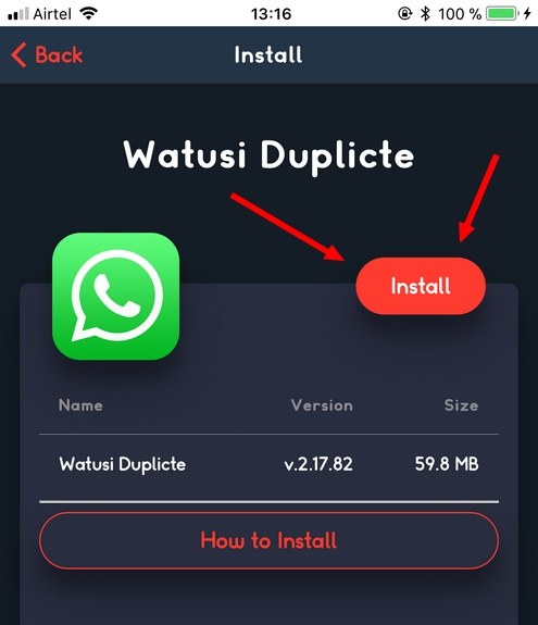 Installer WhatsApp watusi Télécharger WhatsApp++ et WhatsApp Watusi pour iOS sans jailbreak