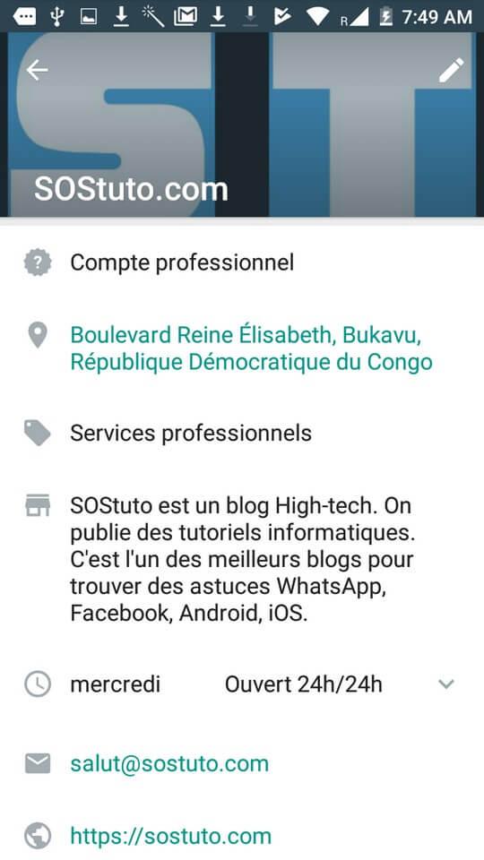 compte professionnel whatsapp Télécharger WhatsApp Business pour Android + Comment l'utiliser