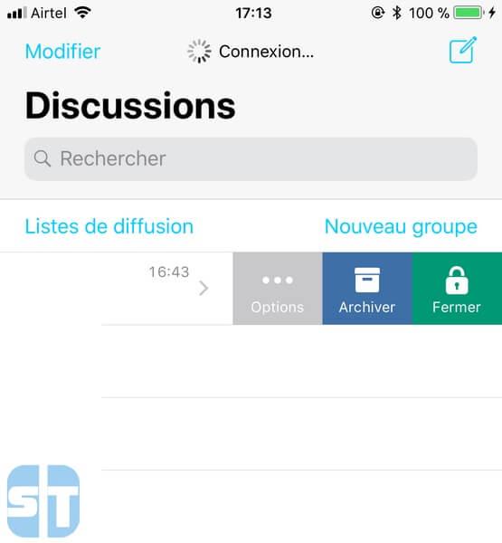 conversation whatsapp bloqué 2 Méthodes pour Protéger WhatsApp sur iPhone avec mot de passe ou Touch ID ou Face ID