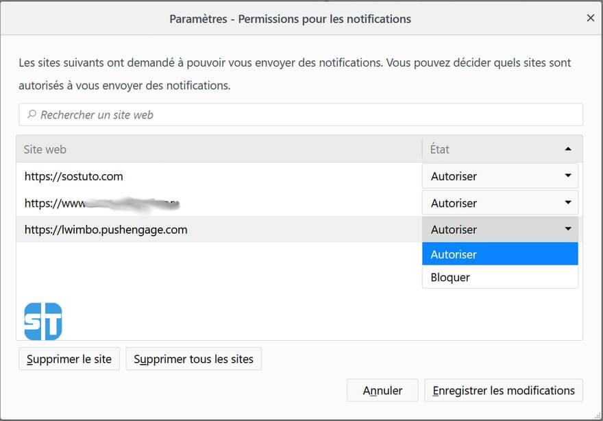 notifications push Firefox Comment désactiver les notifications push sur Google Chrome, Opera, Firefox sur PC