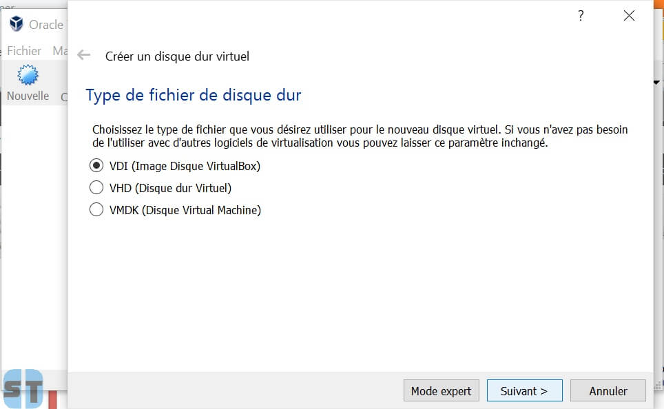 Disque Virtual Box Comment installer OS X sur Windows 10, 8, 7 avec une machine virtuelle