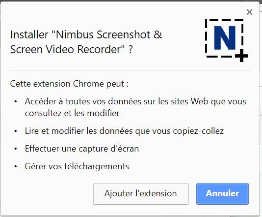 Nimbus Screenshot Screen Video Recorder Comment enregistrer son écran de bureau avec Google Chrome sur Windows / Mac / Linux