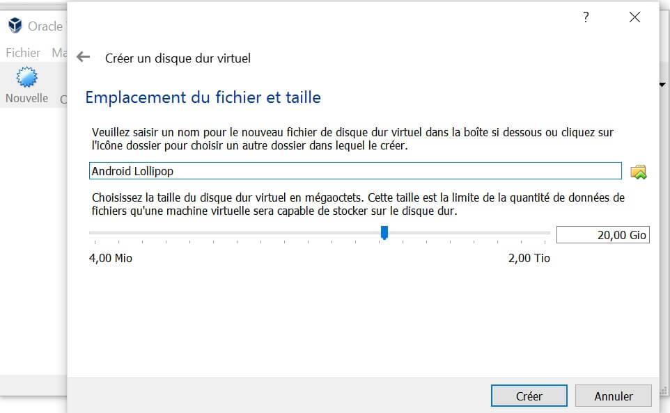 Nom machine virtuelle Comment installer OS X sur Windows 10, 8, 7 avec une machine virtuelle