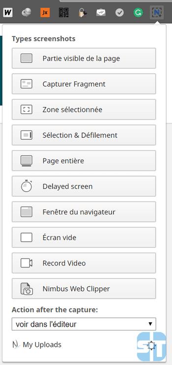 Ouverture Nimbus Comment enregistrer son écran de bureau avec Google Chrome sur Windows / Mac / Linux