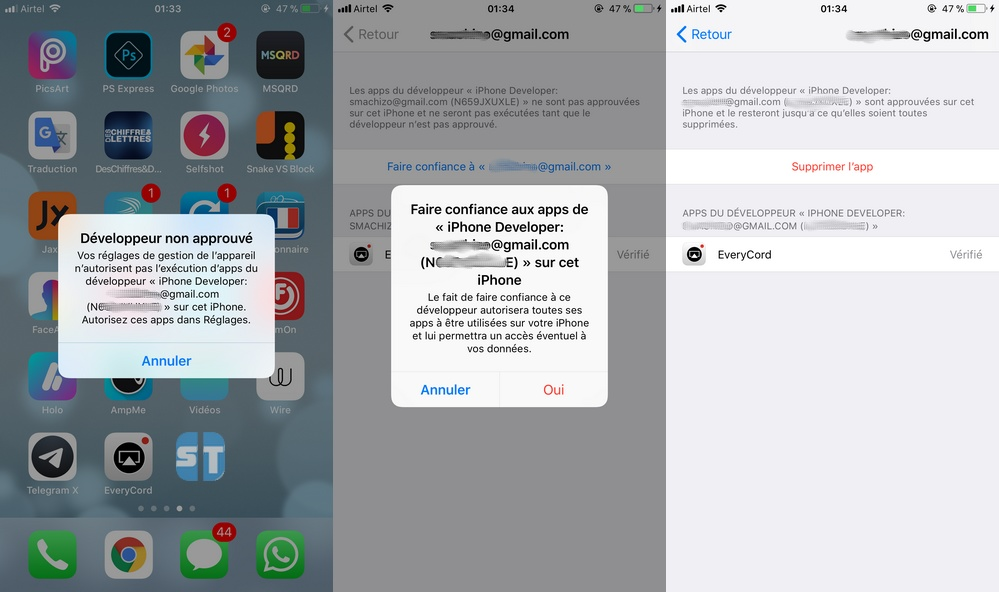 Signer IPA iPhone Télécharger Cydia Impactor et comment l'utiliser pour installer des IPA sur iOS 11