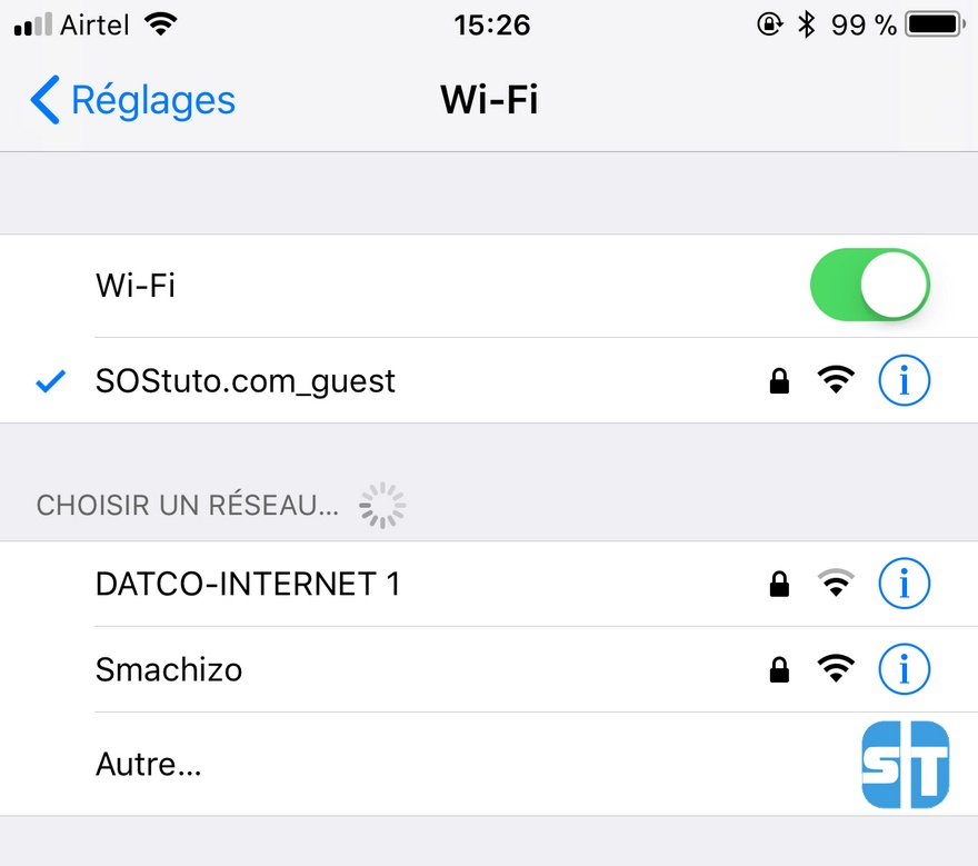 connecté au reseau wifi iphone Comment partager son réseau WiFi avec un Code QR sur Android & iPhone