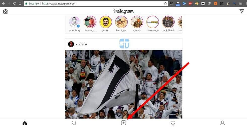 Accueil Instagram sur PC Comment publier une photo sur Instagram depuis un PC en 2018