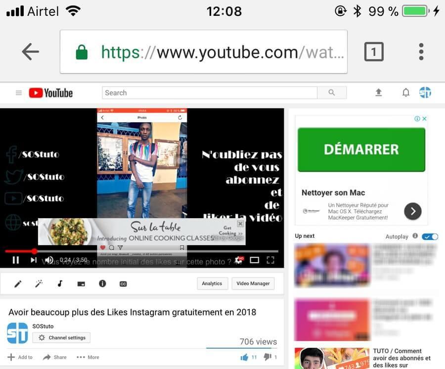 YouTube PC sur Mobile Comment écouter YouTube en arrière-plan sur Android et iPhone (iOS)