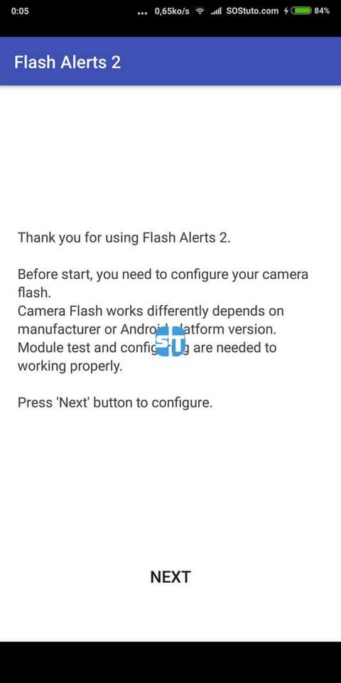 Configurations Flash Alerts 2 Comment activer la notification par flash lors d'un appel entrant sur Android