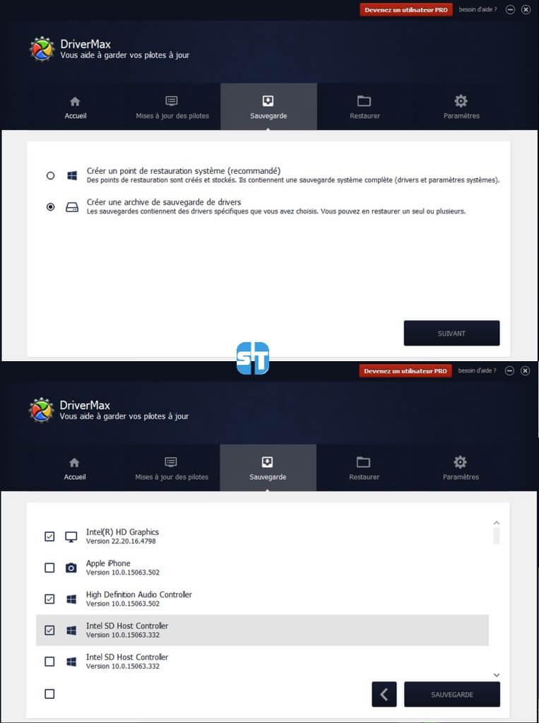 DriverMax Comment sauvegarder les pilotes avant de formater & réinstaller son PC