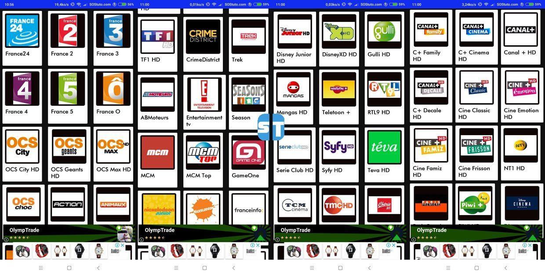 les chaines tele2web iptv Les Meilleures Applications IPTV gratuites sur Android – IPTV Gratuit 2019