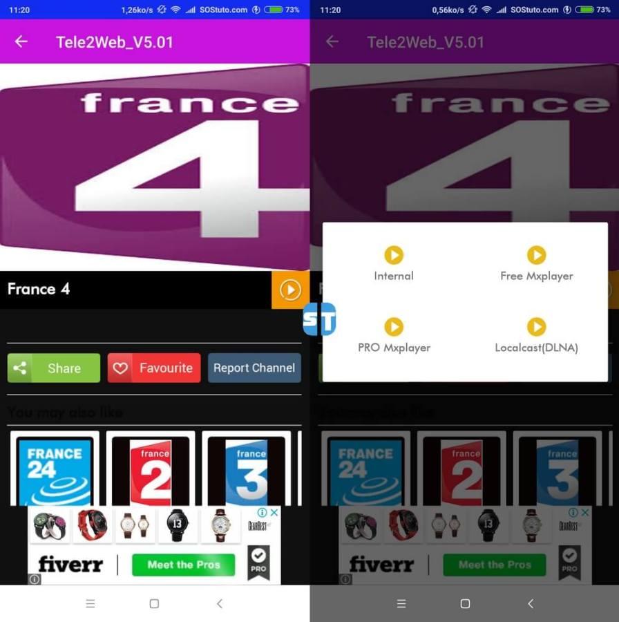 tele2web voir chaine 896x900 Télécharger Tele2web v5 – l'application IPTV avec le plus de chaines françaises
