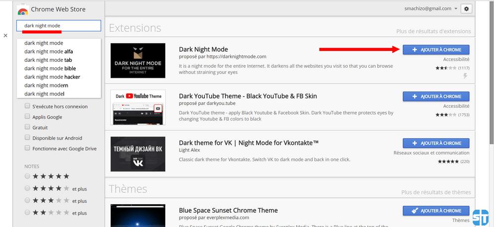 Dark Night Mode Voici comment activer le thème sombre sur Chrome – Chrome Dark Mode