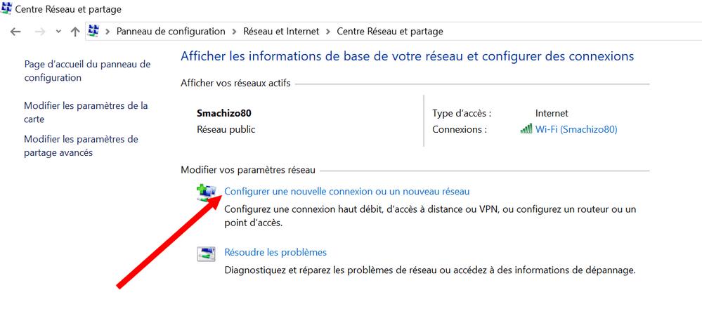 Centre Reseau et Partage Windows Comment se Connecter à un serveur VPN GRATUIT sur Windows & Android sans logiciel