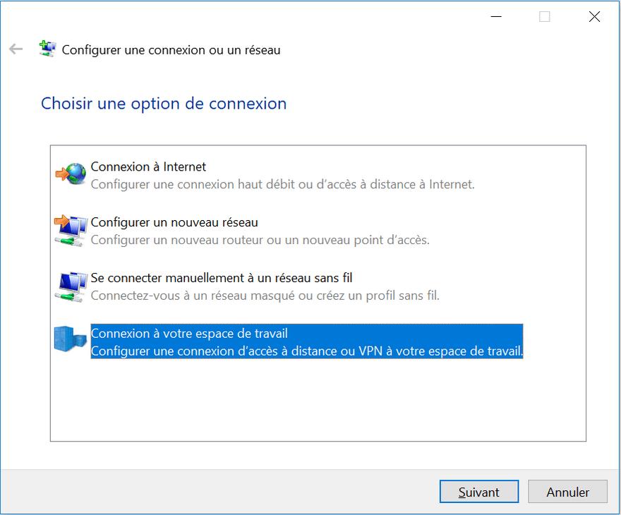 configuration vpn 1 Comment se Connecter à un serveur VPN GRATUIT sur Windows & Android sans logiciel