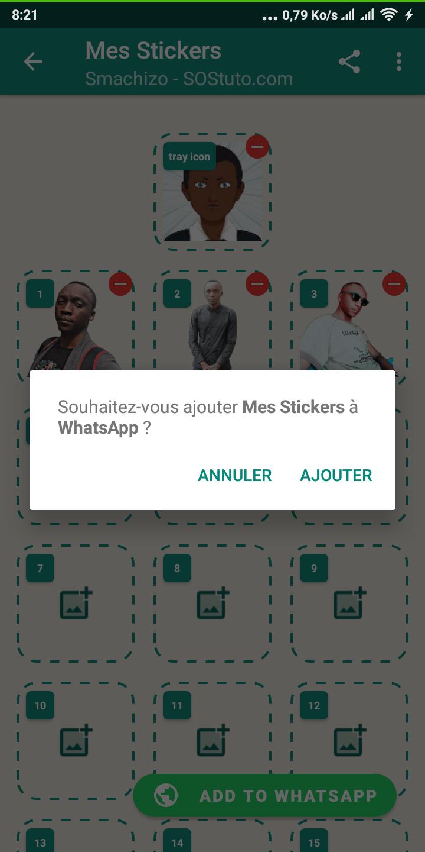 Ajout des Stickers dans WhatsApp WhatsApp Stickers : Voici Comment Créer ses propres Stickers WhatsApp