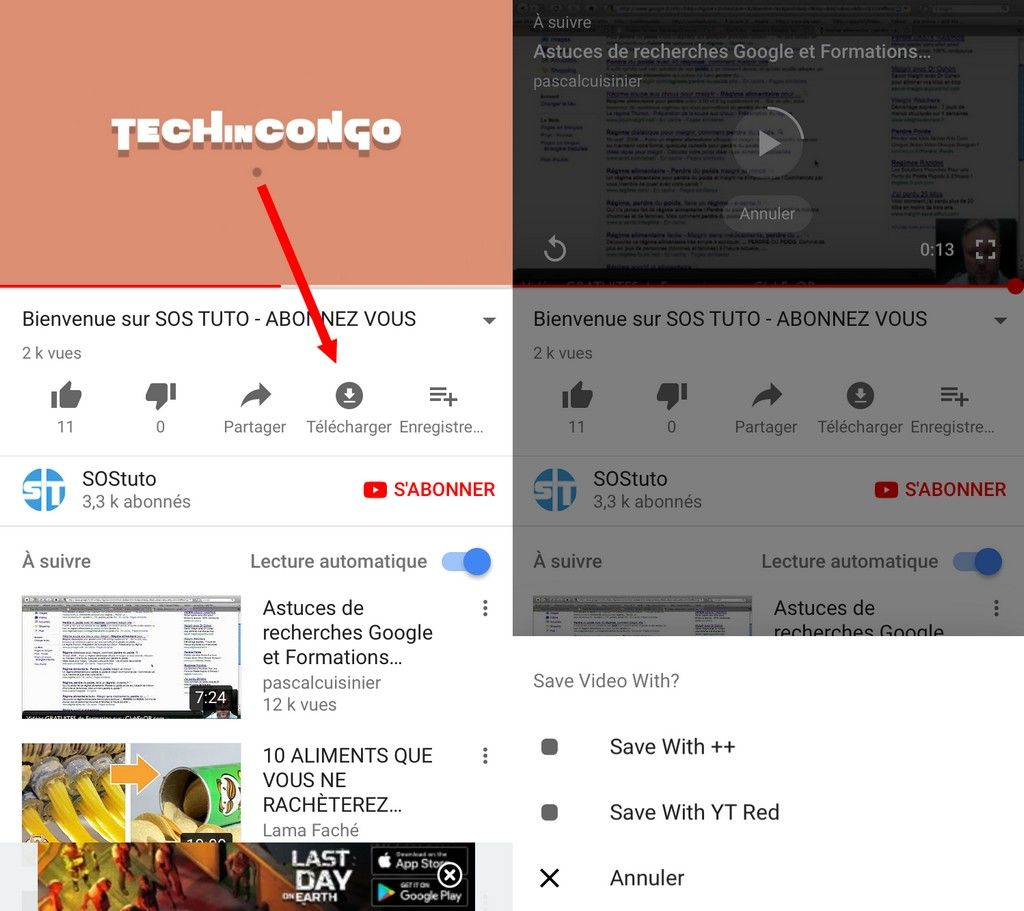 telecharger video youtube iphone 2019
