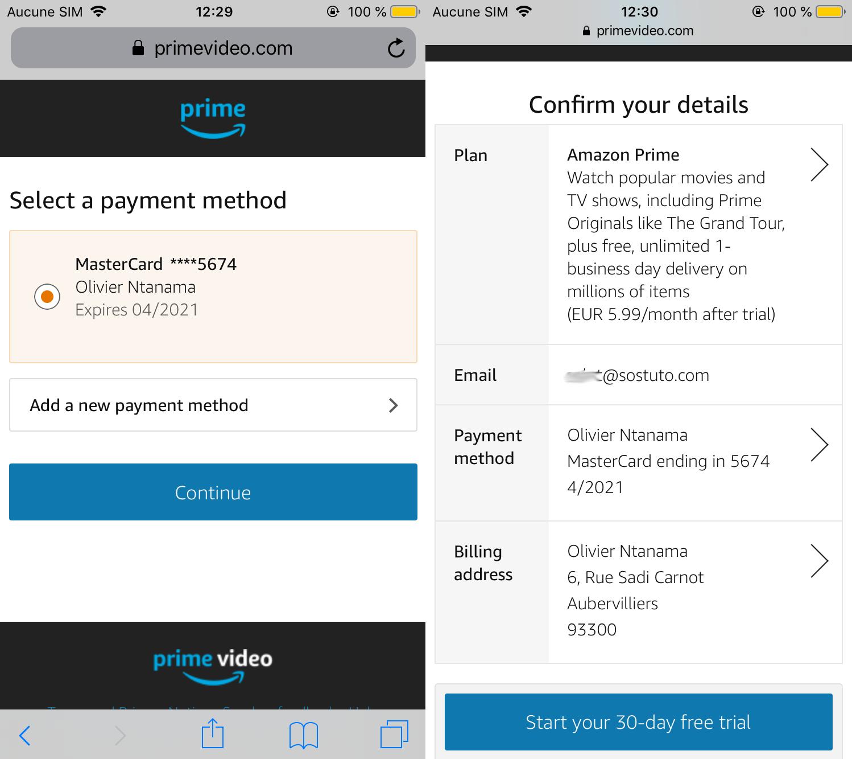 Confirmation Compte Amazon Premier Comment Avoir un Compte Amazon Prime Vidéo gratuitement