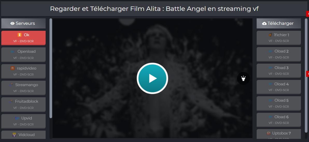 Interface FilmStub Avis sur FilmStub – Le meilleur site de Streaming des Films ?