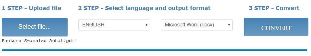 OnlineOCR Les Meilleurs Outils pour Convertir un Fichier PDF en Excel et vice-versa