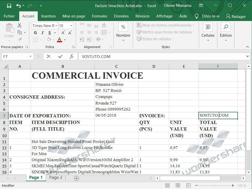 Wondershare PDF To Excel Sortie Les Meilleurs Outils pour Convertir un Fichier PDF en Excel et vice-versa