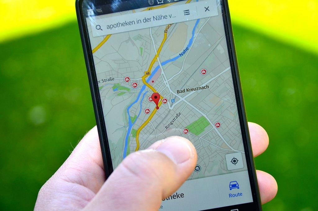 Google Map sur Android 1024x678 Comment Télécharger un Plan pour utiliser Google Maps Hors-ligne