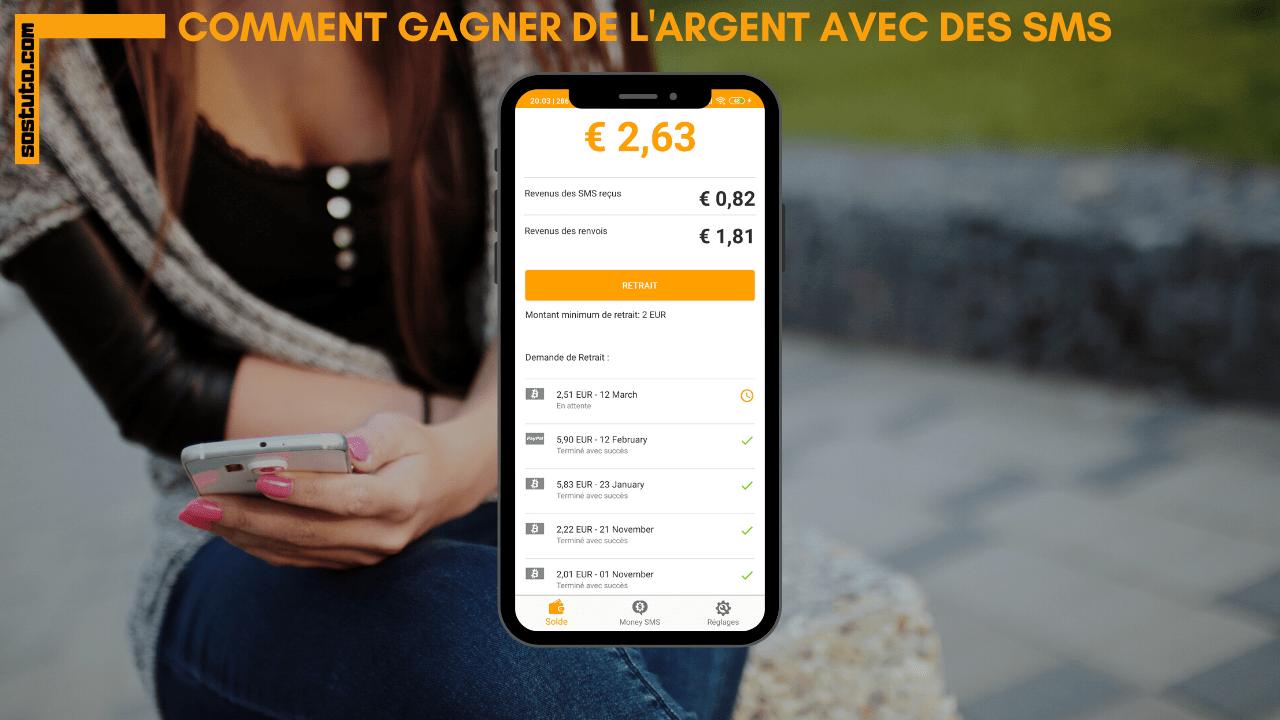 MoneySMS 2020 Money SMS avis – Gagner de l'Argent en Recevant les SMS Rémunérés